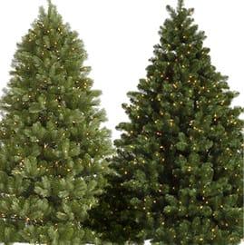 Pre-Lit Christmas Trees