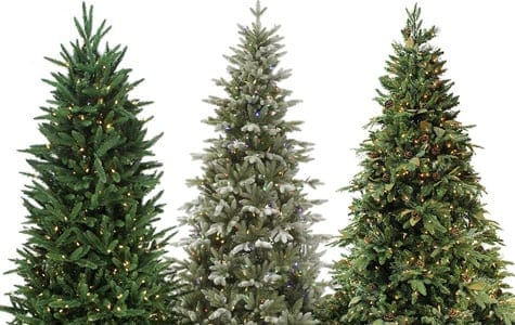 pre lit trees - Fake Christmas Trees For Sale