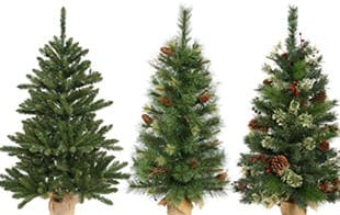 potted trees - Fake Christmas Trees