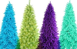 colorful trees - Artifical Christmas Trees