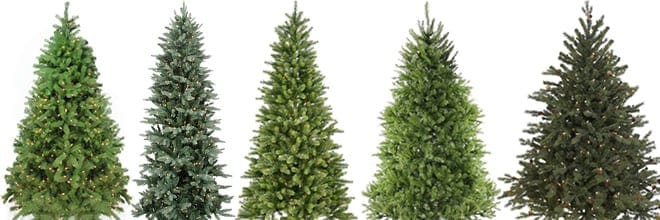 artificial tree types