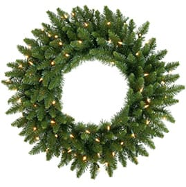Pre-Lit Wreaths