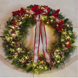 Commercial Wreaths