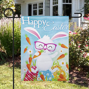 Outdoor Easter flag