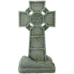 St. Patrick's Day cross