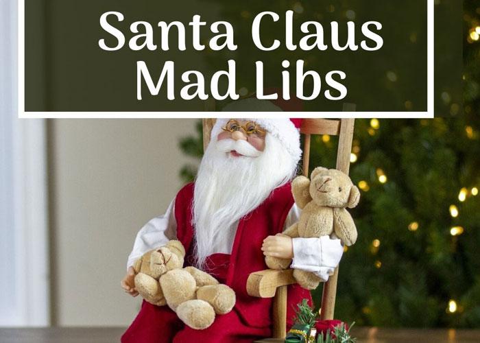 Santa Claus Mad Libs
