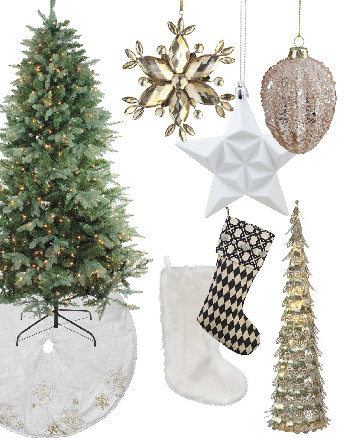 Get The Look: Contemporary Christmas Style   Christmas Central