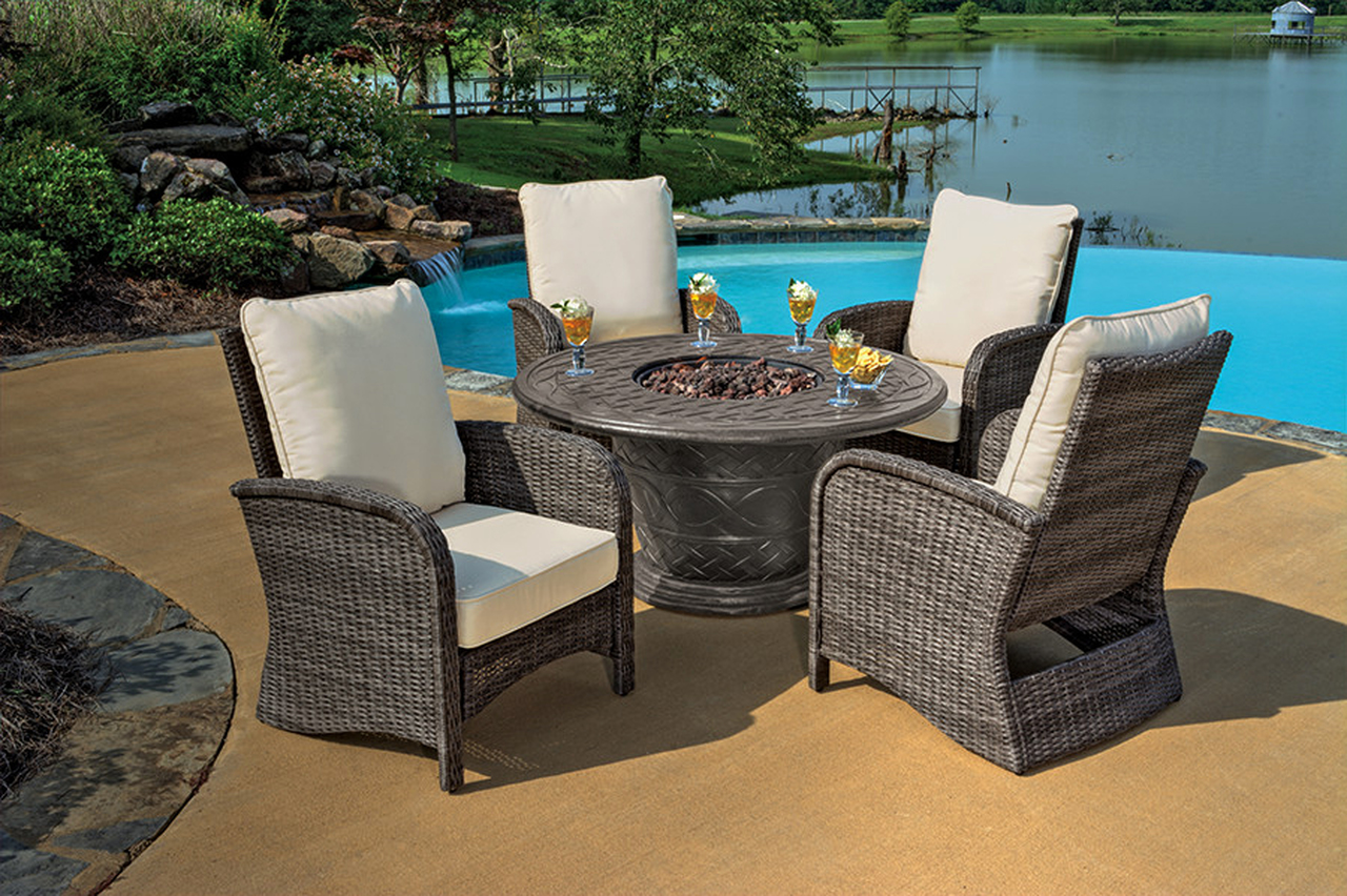 Fire pit Table With Chairs