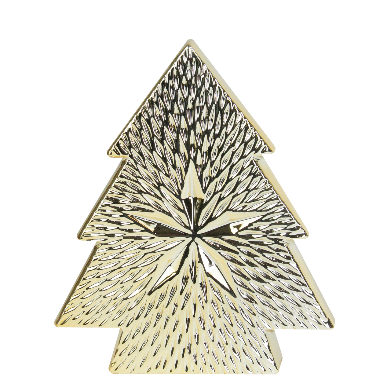 Tabletop Gold Christmas Tree Decoration
