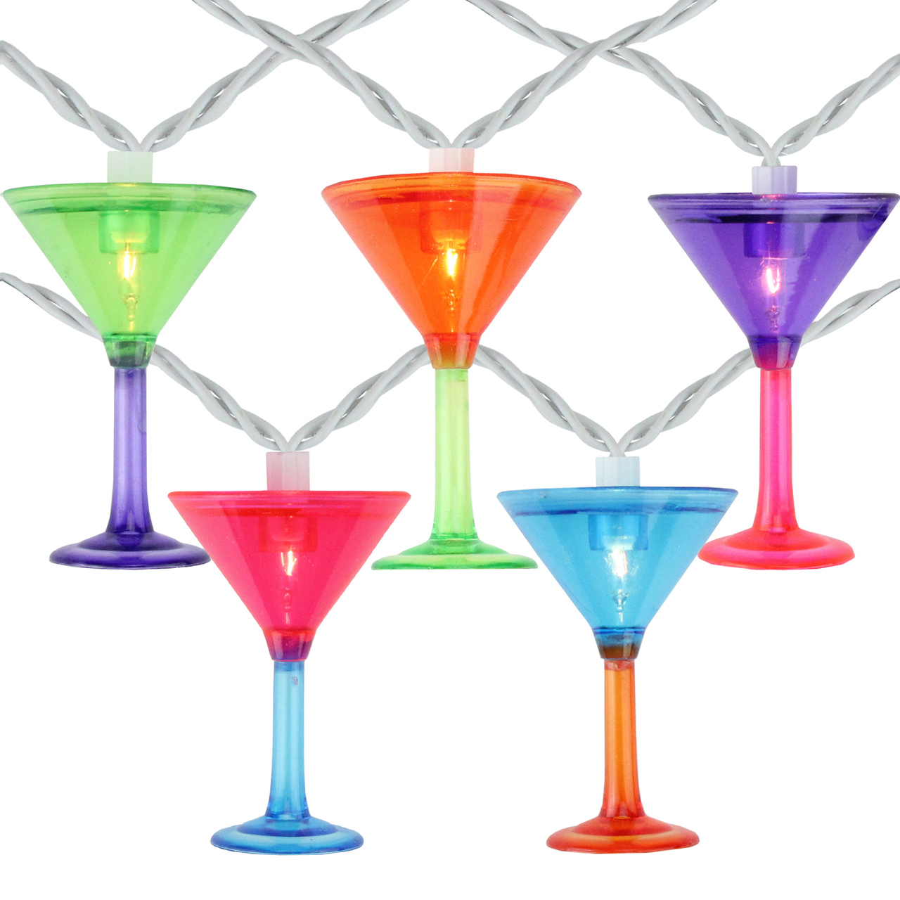 Martini Glass Party Lights