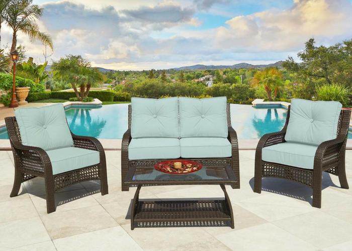 resin wicker patio furniture