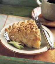 crumb topping apple pie recipe