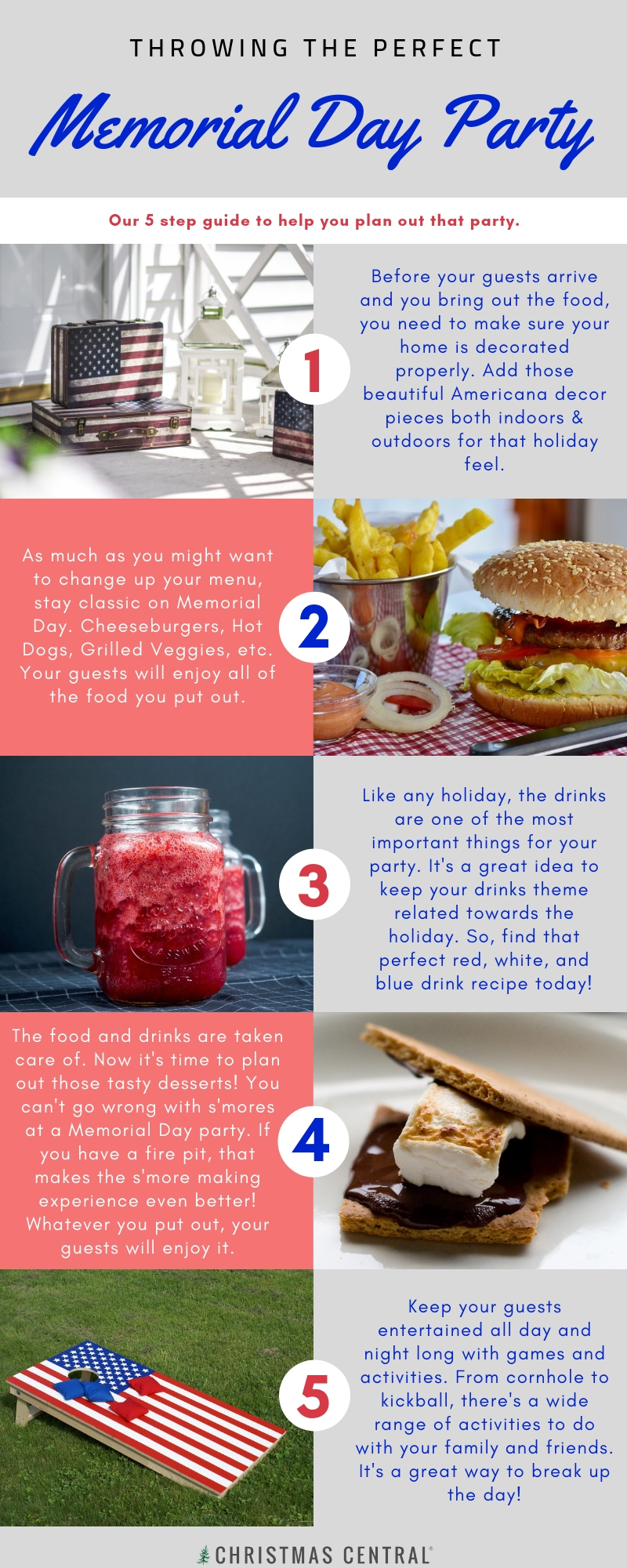 Memorial Day Party Guide