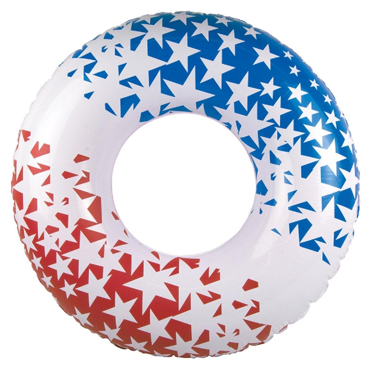 Red, White, and Blue Swimming Pool Float