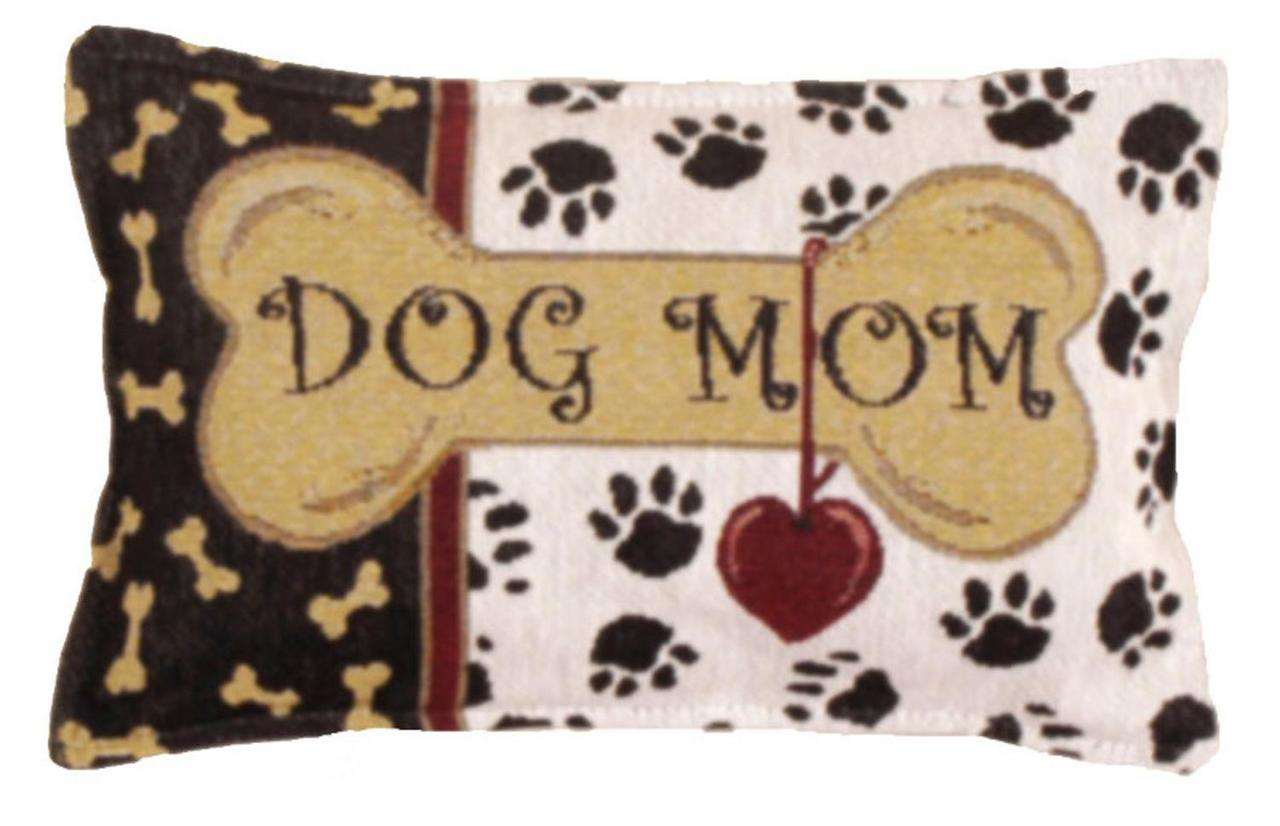 Dog Themed Throw Pillow
